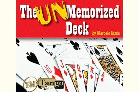 Tango Magic Unmemorized Deck By Marcelo Insua by Tango Magic