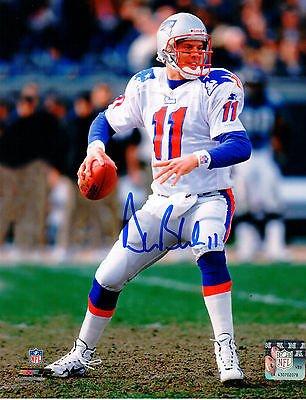 promo code 0bf9b e43c7 Drew Bledsoe New England Patriots Signed Autographed 8x10 ...