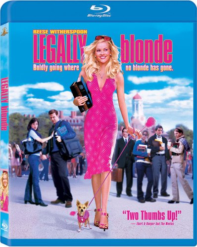 Blu-ray : Legally Blonde (Digital Theater System, AC-3, Dolby, Dubbed, )