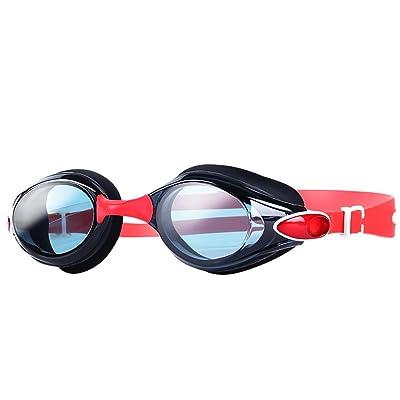 ZHAGOO Lunettes De Natation, Professional Anti-Brouillard Pas De Fuite Protection UV Large View Lunettes De Natation Pour Les Femmes Hommes Adulte Jeunes Enfants