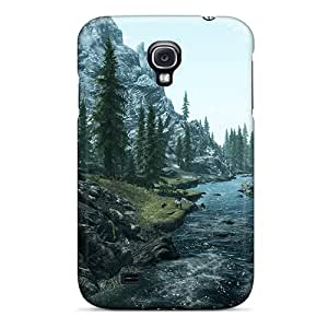 First-class Cases Covers For Galaxy S4 Dual Protection Covers Skyrim