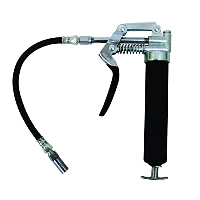 Plews & Edelmann LubriMatic 30-800 4500 PSI, Pistol Style, Mini Grease Gun with Hose, Silver: Automotive