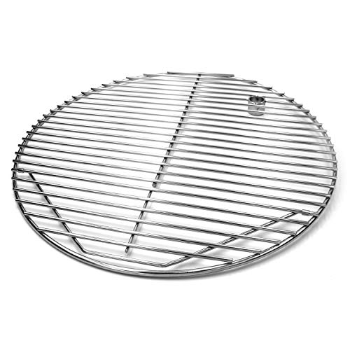 Hongso Scg195 19 5 Quot Bbq Stainless Steel Round Cooking