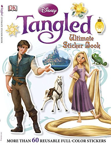 Ultimate Sticker Book: Tangled: More Than 60 Reusable Full-Color Stickers