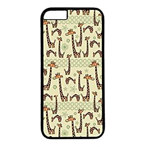 DIY iPhone 6 Plus Case Cover Custom Phone Shell Skin For iPhone 6 Plus With Little Long Neck Deer