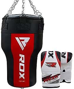 RDX MMA Sacos De Boxeo Bolsa Relleno Ángulo Cuerpo Ssaco Pesado Pared Kick Boxing Muay Thai