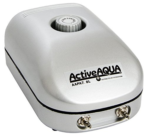 - Nessagro Active Aqua Air Pump, 2 Outlets, 3W, 7.8 L/min .#GH45843 3468-T34562FD273977