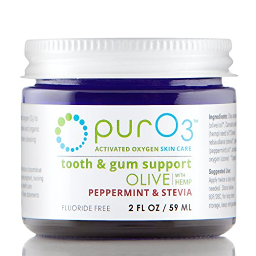 Hose Stinger (PurO3 Tooth and Gum Support (Peppermint & Stevia) - Ozonated Oil for Teeth)