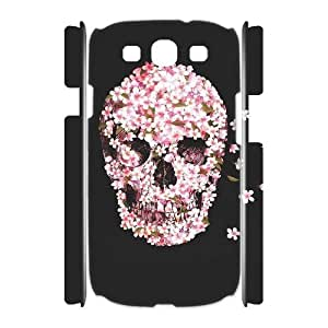 Skull DIY 3D Cover Case for Samsung Galaxy S3 I9300,personalized phone case ygtg557587