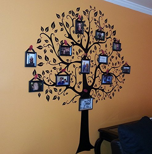 6ft Family Tree Wall Decal,Created By Digiflare Graphics, USA, Original designers of this product (not China copies)