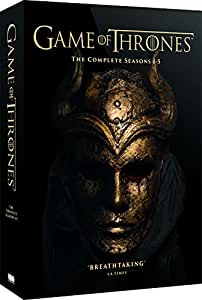 Game of Thrones (Complete Seasons 1-5) - 25-DVD Box Set ( Game of Thrones - Seasons One to Five ) [ NON-USA FORMAT, PAL, Reg.2 Import - United Kingdom ]