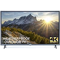 Outdoor TV 55 Fully Weatherproof Ultra HD 4K Smart All Weather LED Television - by Sealoc