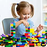 Dimple Large Blocks for Toddlers/Kids (450-Piece Set) Stackable, Multi-Colored, Interlocking Toys Safe, Non-Toxic Plastic Bright Colors, Waterproof Boys and Girls Age 3 +