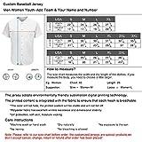 Aitrony Custom Team Baseball Jersey Personalized