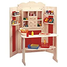 Taufgeschenke Direkt Pretend Play Market Stand combined with Theatre (without decoration)
