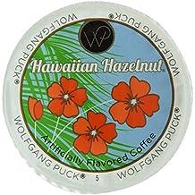 Wolfgang Puck Hawaiian Hazelnut Flavored Coffee Single Serve Cups for Keurig, 24 Count