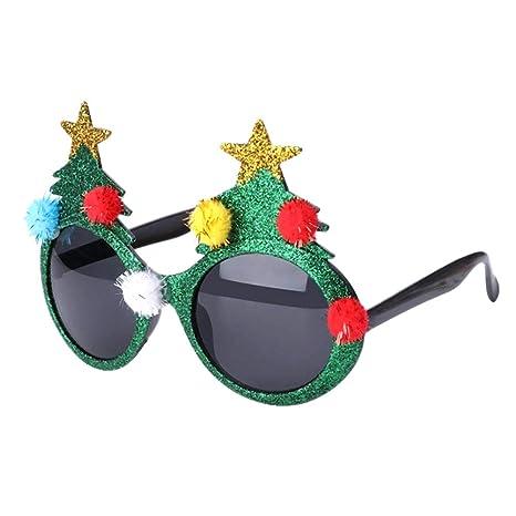BraveWind - Gafas de Sol con Purpurina, diseño de árbol de ...