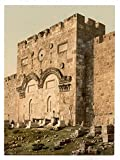 Historic Photos The Golden Gate (exterior), Jerusalem, Holy Land