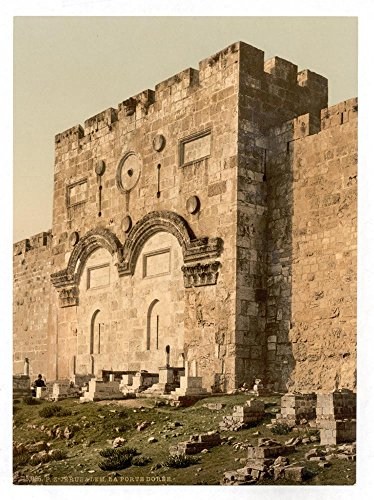 Historic Photos The Golden Gate (exterior), Jerusalem, Holy Land by Historic Photos