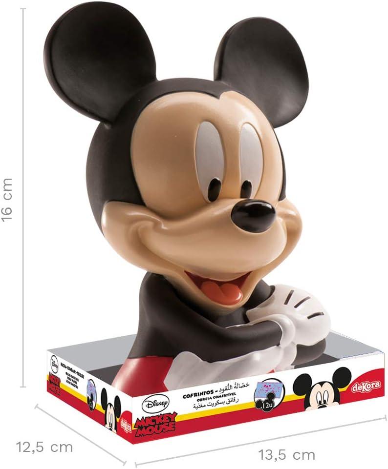 Dekora Hucha Infantil de Mickey Mouse con Billetes de Oblea Color ...