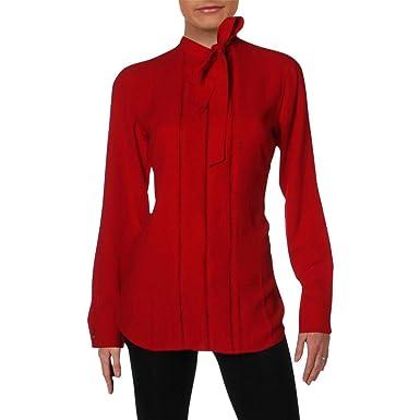 Ralph Lauren Liliha - Blusa de Punto con Cuello de Corbata para ...