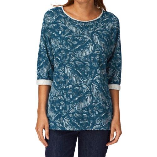 Levis Made And Crafted Women's Dipper Fleece Crew Neck Sweatshirt - Blue