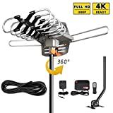 Best TV Antennas - UPGRADED 2018 VERSION HD Digital TV Antenna Kit–Best Review