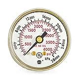 1-1/2'' x 4000 PSI Welding Repair Replacement Gauge for Victor Flowmeters, V-602