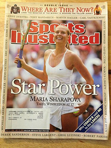 (SPORTS ILLUSTRATED JULY 12-19 2004 MARIA SHARAPOVA)