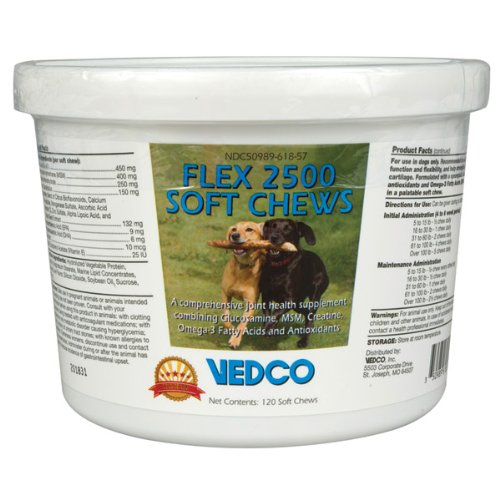 Flex 2500 Soft Chews – 120 ct, My Pet Supplies