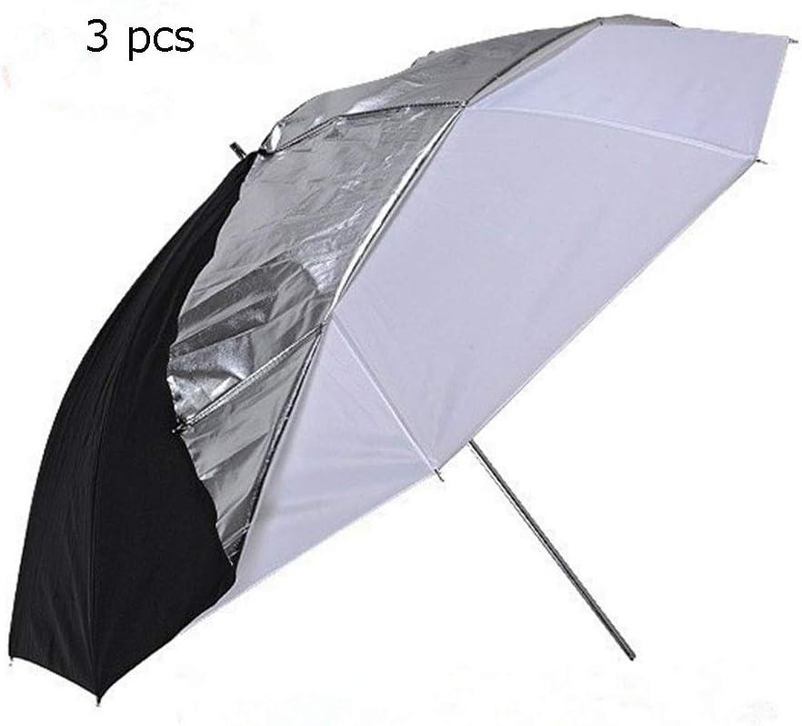 33 Inch Double Umbrella 2 in 1 Detachable Photography Umbrella Professional Studio Flash Translucent White Umbrella Suitable for All Studio Flashes for Photo Shooting