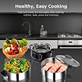 Secura 2 Stainless Steel Food Steamer 8.5 Qt