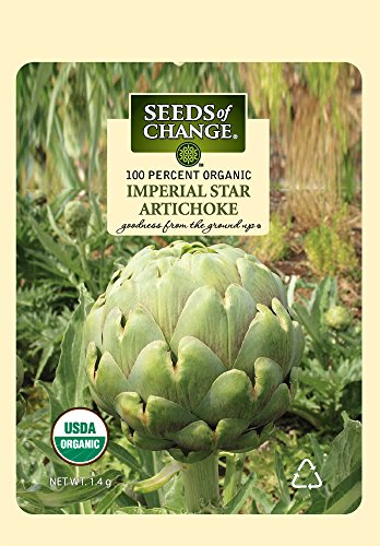 Seeds of Change S21052 Certified Organic Artichoke Imperial Star