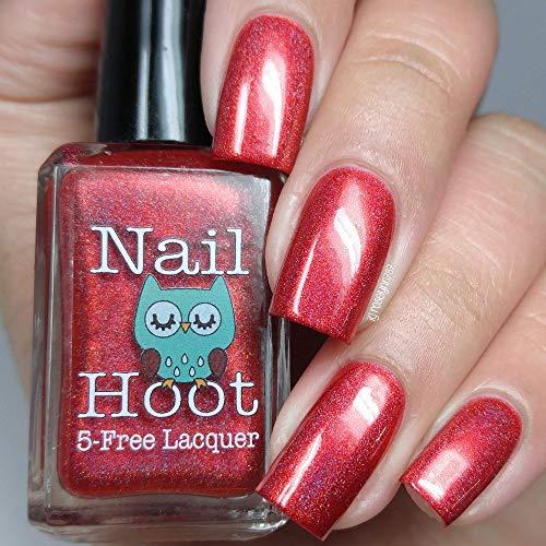 Ruby - July Birthstone Indie Nail Polish (Handmade & 5-Free)
