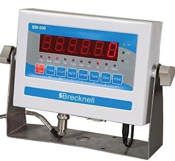 Salter Brecknell Digital LED indicador sbi-505, ntep, Legal Para El Comercio por Brecknell: Amazon.es: Electrónica