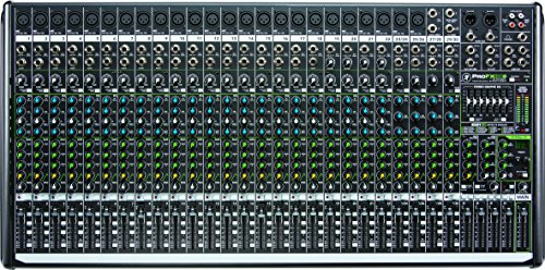 Mackie PROFX30V2 30-Channel 4-Bus Mixer with USB and Effects - Console Recording