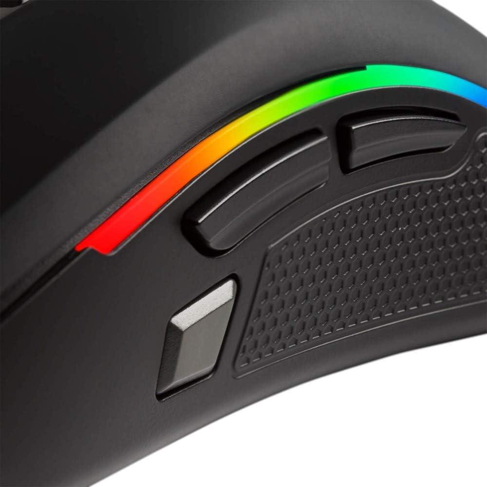 5000 DPI, optique Avago, /éclairage LED Souris de jeu PC Mars Gaming MMZE1