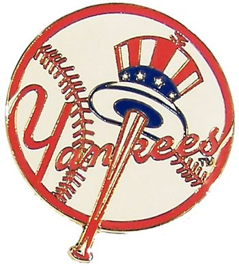 MLB New York Yankees Logo Pin -