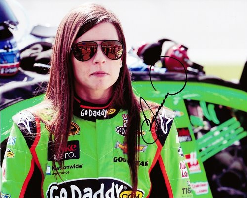 AUTOGRAPHED 2013 Danica Patrick #10 GoDaddy Racing Team (Pit Road Qualifying) 8X10 NASCAR SIGNED Glossy Photo...
