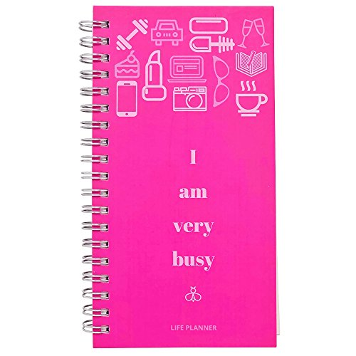 Hope Calendar Print (2018 Planner - Weekly Daily Monthly Pocket Calendar-Wedding Book-Undated Hard Cover Personal Agenda- I Am Very Busy-7X3.5 in Mini Travel Sized Datebook)
