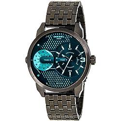 Diesel Men's DZ7340 Mini Daddy Black Stainless Steel Bracelet Watch