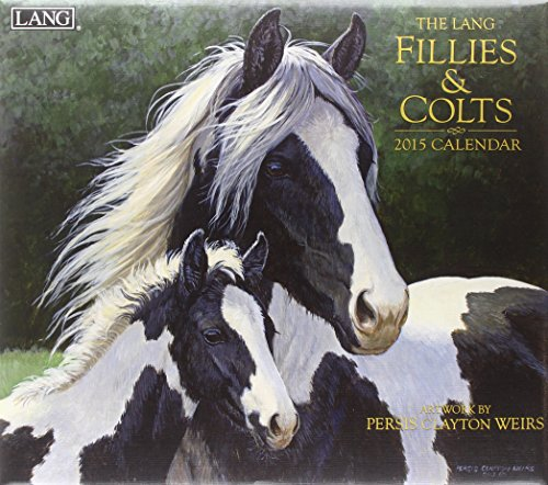 Lang January to December, 13.375 x 24 Inches, Perfect Timing Fillies and Colts 2015 Wall Calendar Persis Clayton Weirs (1001803)