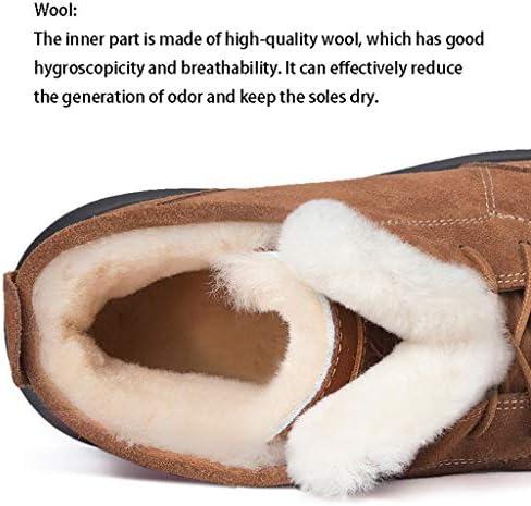 Bottes Neige Femme d\'hiver Nouveaux Moutons Fourrure Les Oreilles de Lapin dans Le Tube épaissie Martin (Color : Maroon, Size : 38)