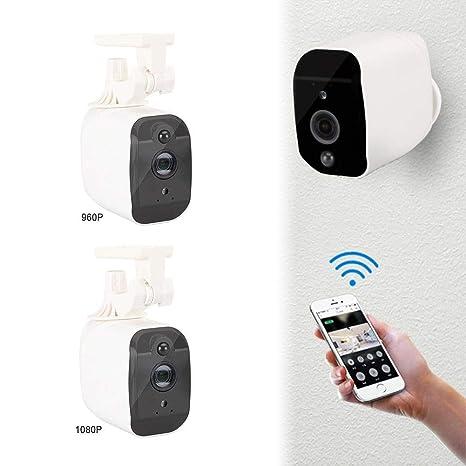 Timbre de seguridad inteligente, Batería De Bajo Consumo De Energía Cámara De Vigilancia Visual con