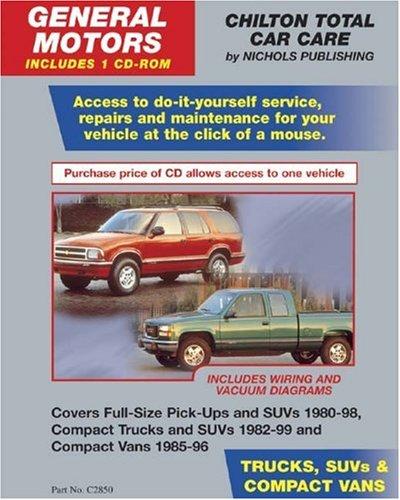 Download GM Trucks, SUVs, & Compact Vans 1980-99 (Retail Box) (Total Car Care) PDF
