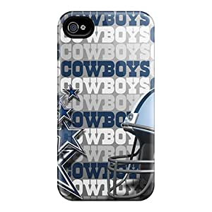 SZZ2527uuAY Baretty Dallas Cowboys Durable Iphone 4/4s Tpu Flexible Soft Case