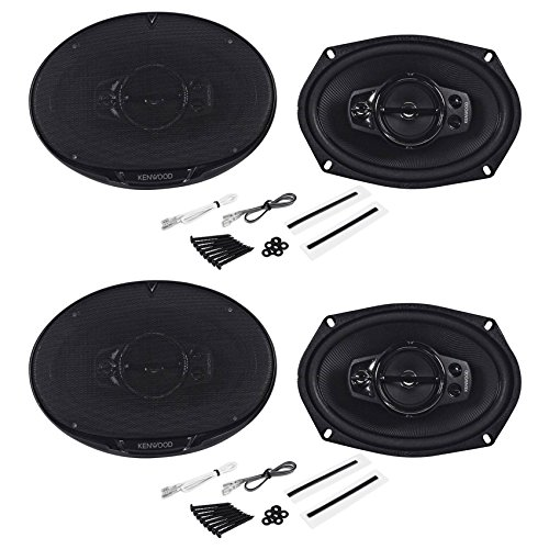 (4) New! Kenwood KFC-6995PS 650 Watts 6x9 5-Way Car Speakers