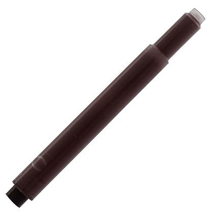 Monteverde - Cartucho de tinta para plumas Lamy (5 unidades), color marrón