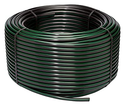 "Rain Bird T63-500 Drip Irrigation 1/2"" Blank Distribution Tubing, 500' Roll, Black"
