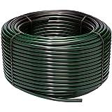 "Rain Bird T63-500S Drip Irrigation 1/2"" (.630"" OD) Blank Distribution Tubing, 500' Roll, Black"